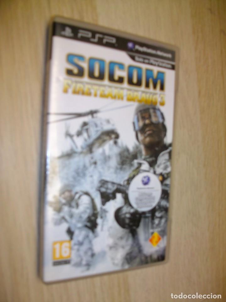 SOCOM: FIRETEAM BRAVO 3 SONY PSP (Juguetes - Videojuegos y Consolas - Sony - Psp)