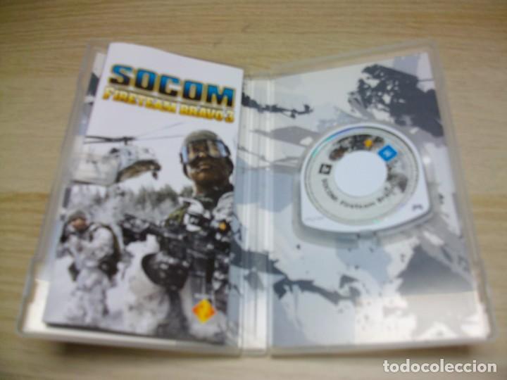 Videojuegos y Consolas: Socom: Fireteam Bravo 3 Sony PSP - Foto 2 - 287794473