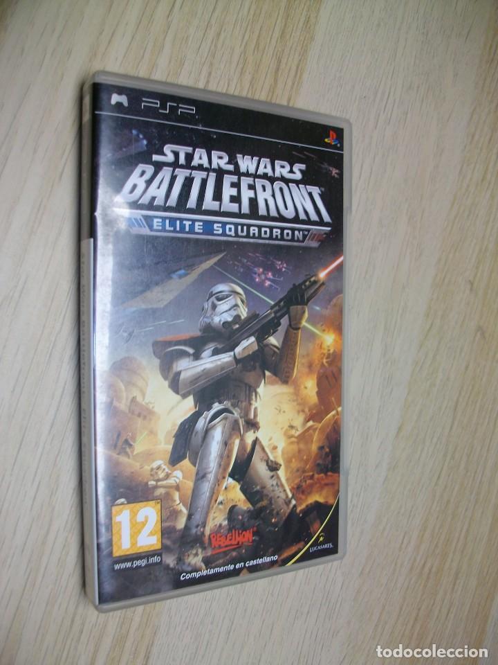 BATTLEFRONT ELITE SQUADRON JUEGO DE SONY PSP (Juguetes - Videojuegos y Consolas - Sony - Psp)