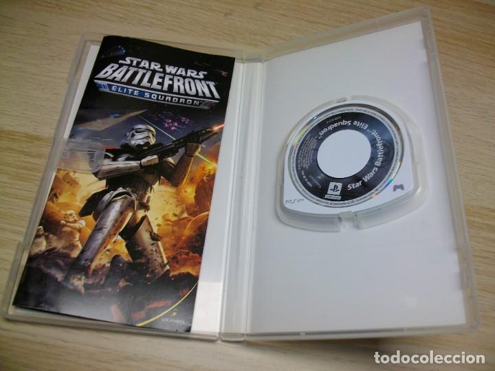 Videojuegos y Consolas: Battlefront Elite Squadron JUEGO de Sony PSP - Foto 2 - 287794543
