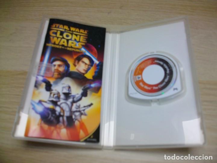 Videojuegos y Consolas: STAR WARS Clone Wars Heroes Republica JUEGO de Sony PSP - Foto 2 - 287794723