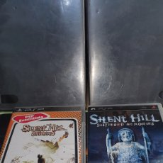 Videojuegos y Consolas: SONY PSP PACK LOTE SILENT HILL ORIGINS + SHATTERED MEMORIES. Lote 289468188