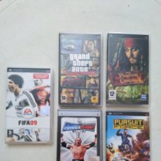 Videojuegos y Consolas: LOTE DE 5 JUEGOS PSP. Lote 293609228