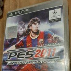 Videojuegos y Consolas: MESSI PSP FUTBOL.PES 2011 KONAMI JUGADOR BARCELONA /PARIS. Lote 293652753