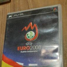 Videojuegos y Consolas: EURO 2008 PSP DEPORTES FÚTBOL AUSTRIA /SWITZERLAND SONY. Lote 293653578