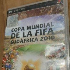 Videojuegos y Consolas: PSP COPA MUNDIAL DE LA FIFA SUDÁFRICA 2010 SONY DEPORTES FÚTBOL. Lote 293653993
