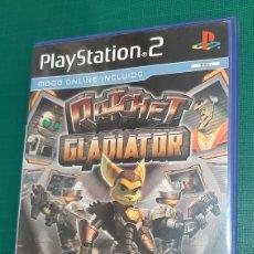 Videojuegos y Consolas: DVD ROM PLAY STATION 2 RATCHET GLADIATOR SONY. Lote 293729693