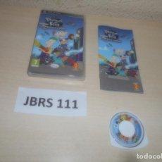 Videojuegos y Consolas: PSP - PHINEAS Y FERB A TRAVES DE LA 2º DIMISION , PAL ESPAÑOL , COMPLETO. Lote 293999888