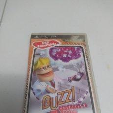 Videojuegos y Consolas: JUEGO BUZZ CEREBROS EN ACCION. Lote 294099548