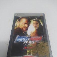 Videojuegos y Consolas: JUEGO SMACKDOWN VS RAW 2009. Lote 294517763