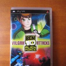 Videojuegos y Consolas: BEN 10 ALIEN FORCE VILGAX ATTACKS (SONY PSP). Lote 295552108