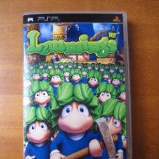 Videojuegos y Consolas: LEMMINGS (SONY PSP) (PEGI 3). Lote 295552263