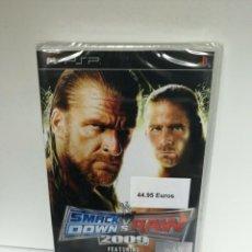 Videojuegos y Consolas: PSP SMACKDOWN VS RAW 2009 NUEVO/PRECINTADO. Lote 296770593