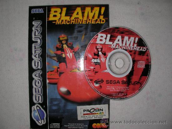 JUEGO SEGA SATURN BLAM! MACHINEHEAD (Juguetes - Videojuegos y Consolas - Sega - Saturn)