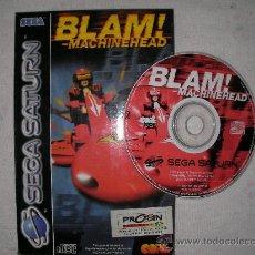 Videojuegos y Consolas: JUEGO SEGA SATURN BLAM! MACHINEHEAD. Lote 93178260