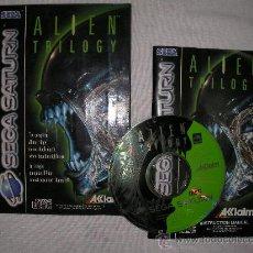 Videojuegos y Consolas: JUEGO SEGA SATURN ALIEN TRILOGY. Lote 87492043