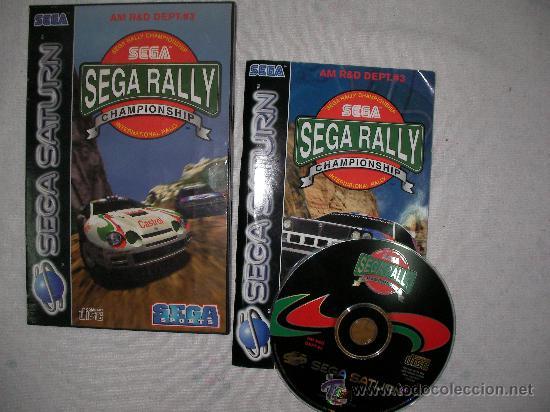 Juego Sega Saturn Sega Rally Championship Comprar Videojuegos Y