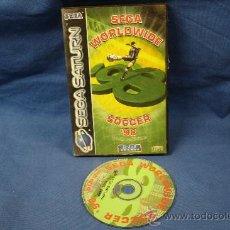 Videojuegos y Consolas: WORLDWIDE SOCCER ´98 - SEGA SATURN 1997. Lote 24280840