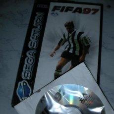 Videojuegos y Consolas: ANTIGUO JUEGO SEGA SATURN FIFA 97. Lote 24366348
