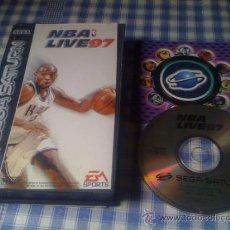 Videojuegos y Consolas: NBA LIVE 97 JUEGO PARA SEGA SATURN PAL COMPLETO. Lote 32216836