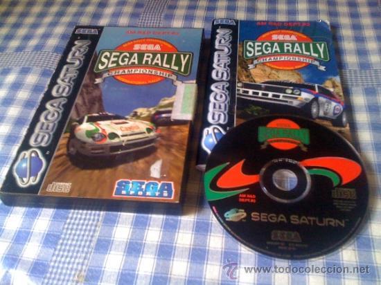 Sega Rally Championship Juego Para Sega Saturn Comprar Videojuegos