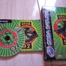 Videojuegos y Consolas: SEGA WORLDWIDE SOCCER 97 [SATURN PAL ESPAÑA]. Lote 101434120