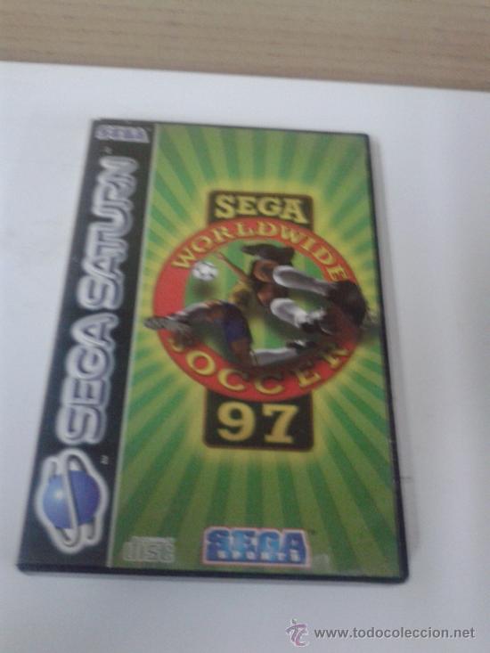 JUEGO CONSOLA SEGA SATURN- SEGA WORLDWIDE SOCCER (Juguetes - Videojuegos y Consolas - Sega - Saturn)