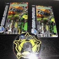 Videojuegos y Consolas: JUEGO SEGA SATURN SHELLSHOCK. Lote 40211992