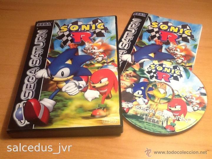 Sonic R Juego Para Sega Saturn Pal Completo En Comprar Videojuegos