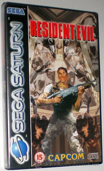 RESIDENT EVIL [CAPCOM] [1996] [SEGA SATURN] [EURO / PAL] (Juguetes - Videojuegos y Consolas - Sega - Saturn)