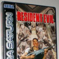 Videojuegos y Consolas: RESIDENT EVIL [CAPCOM] [1996] [SEGA SATURN] [EURO / PAL]. Lote 43782566
