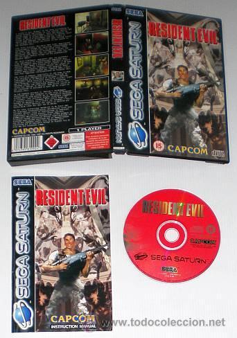 Videojuegos y Consolas: Resident Evil [Capcom] [1996] [Sega Saturn] [Euro / PAL] - Foto 3 - 43782566