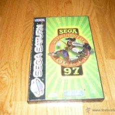 Videojuegos y Consolas: JUEGO SEGA SATURN WORLDWIDE97 SOCCER SEGA SPORT. Lote 43856520