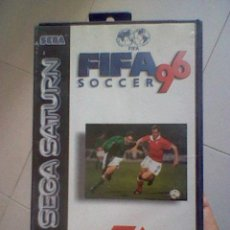 Videojuegos y Consolas: JUEGO COMPLETO SEGA SATURN FIFA 96 SIN PROBAR . Lote 44099435
