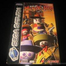 Videojuegos y Consolas: MIGHTY HITS PARA SEGA SATURN PAL COMPLETO CON CATALOGO JUEGOS. Lote 102355778