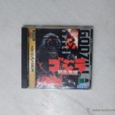 Videojuegos y Consolas: JUEGO GODZILLA PARA SEGA SATURN NTSC JAP. Lote 51569554
