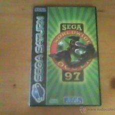 Videojuegos y Consolas: JUEGO SATURN WORLDWIDE SOCCER 97. Lote 51704803
