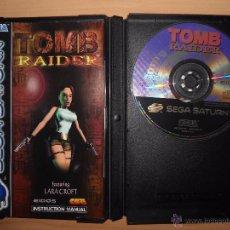 Videojuegos y Consolas: TOMB RAIDER - SEGA SATURN. Lote 54157800