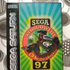 Videojuegos y Consolas: WORLDWIDE SOCCER 97 SEGA SATURN SELLADO NUEVO A ESTRENAR. Lote 57113719
