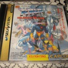 Videojuegos y Consolas: X MEN CHILDREN OF THE ATOM SEGA SATURN JAPONES CAPCOM. Lote 57714659