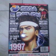 Videojuegos y Consolas: SEGA SATURN MAGAZINE. INGLESA.1997. REVISTA OFICIAL PARA LA CONSOLA.NUEVA.. Lote 57764645