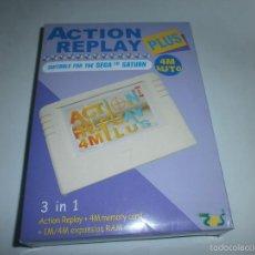 Videojuegos y Consolas: ACTION REPLAY SEGA SATURN NUEVO. Lote 114891434