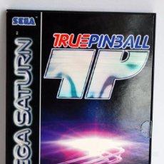 Videojuegos y Consolas: TRUE PINBALL DE SEGA OCEAN PARA SEGA SATURN TRUEPINBALL SEGASATURN. Lote 60790335