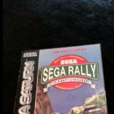 Videojuegos y Consolas: SEGA RALLY PARA SEGA SATURN. Lote 70544725