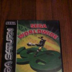 Videojuegos y Consolas: SEGA WORLDWIDE SOCCER 98 CLUB EDITION.SATURN.PAL.COMPLETO CON INSTRUCCIONES . Lote 80257445