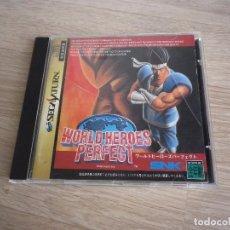 Videojuegos y Consolas: SEGA SATURN JUEGO WORLD HEROES PERFECT (JAP). Lote 95621735