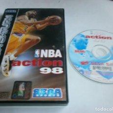 Videojuegos y Consolas: NBA ACTION 98 SATURN PAL ESPAÑA SIN MANUAL . Lote 96749035