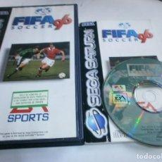 Videojuegos y Consolas: FIFA 96 SATURN PAL ESPAÑA COMPLETO . Lote 96749375