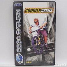 Videojuegos y Consolas: JUEGO COURIER CRISIS SEGA SATURN PAL ESPAÑA. MUY BUSCADO. RARO. Lote 99441971