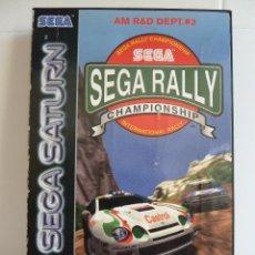 Videojuegos y Consolas: JUEGO DE SEGA SATURN - SEGA RALLY CHAMPIONCHIP. Lote 99620511